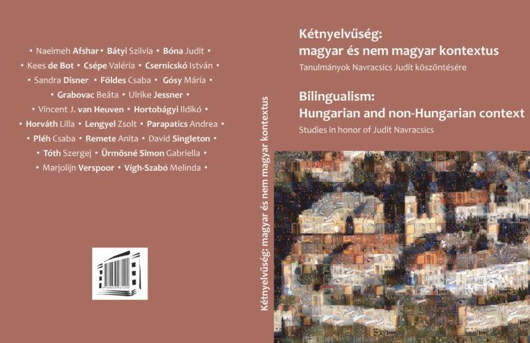 Új könyv: Kétnyelvűség
