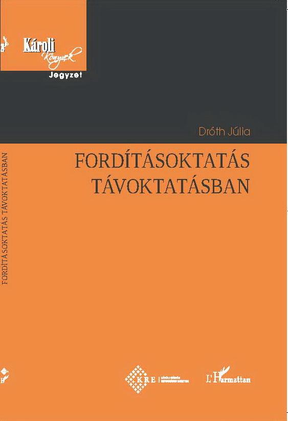 Új könyv a fordításról és a távoktatásról
